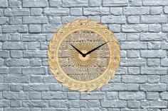 Bike Wheel Clock Free CDR Vectors Art