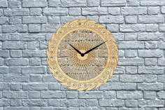 Bike Wheel Clock Free DXF File