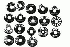 Clocks Collection Free CDR Vectors Art