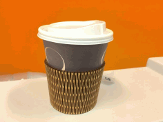 Lasercut Cup Holder Free PDF File