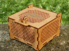 Basket Box Laser Cut Free PDF File