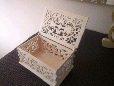 Box With Lid Scroll Saw Pattern Free PDF File