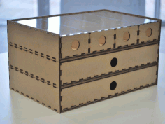 Laser Cut Stacking Drawer Box Free PDF File