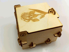 Pinned Box Laser Cut Free PDF File