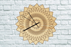 Clock Wooden Free PDF File
