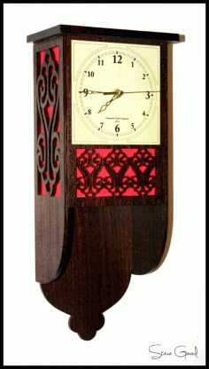 Fret Wall Clock Free PDF File