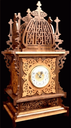 Fretwork Clock Free PDF File