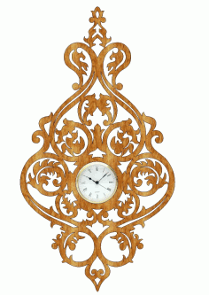Scroll Saw Clock Free PDF File