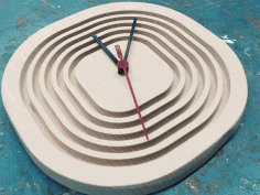 Step Clock Cnc Router Plans Free PDF File