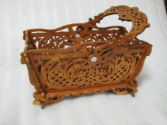 Basket Scroll Saw Pattern Free PDF File