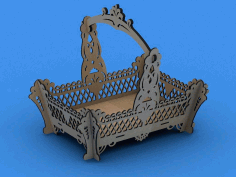 Fruit Basket Large Scroll Saw Plans Free PDF File