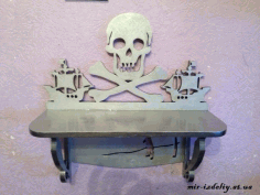 Pirate Shelf Scroll Saw Pattern Free PDF File