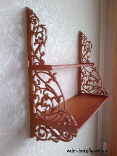Shelf Decorative Scroll Saw Free PDF File
