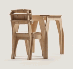 Bar Table Chair Laser Cut Cnc Plans Free PDF File