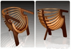 Shell Chair Laser Cut Cnc Plans Free PDF File