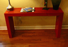 Console Table Plans Free PDF File