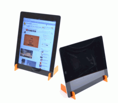 Tablet Stand Laser Cut Free PDF File