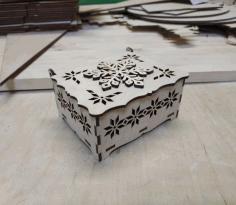 Snowflake Box Free CDR Vectors Art