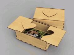 Wooden Photo Box 3mm Free CDR Vectors Art