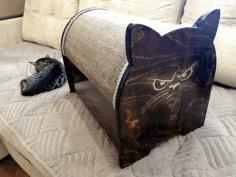 Cat House Free CDR Vectors Art