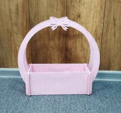 Flower Basket Candy Basket Home Decor Ideas 4mm Free CDR Vectors Art