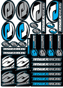 Answer Racing Logo Vector Free AI File
