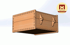 Box 120x120x60 Free DXF File