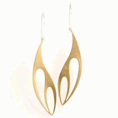 Laser Cut Acrylic Earrings Templates Free DXF File