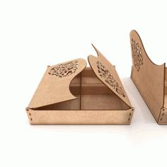 Love Box Wooden Gift Box Free CDR Vectors Art