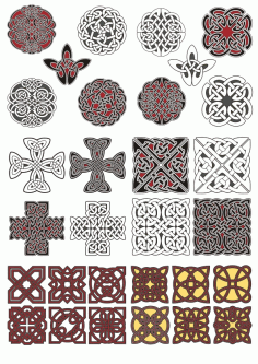 Vectors Celtic Ornament Free CDR Vectors Art