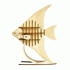 Fish On Stand Free CDR Vectors Art