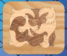 Bird Puzzle Game Free CDR Vectors Art