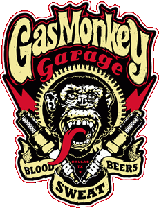 Gas Monkey Logo Vector Free AI File