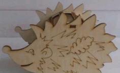 Hedgehog Pencil Holder Kids Room Ideas Free CDR Vectors Art