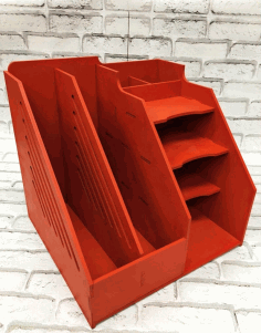 Office Desk Organizer Document Holder Free CDR Vectors Art