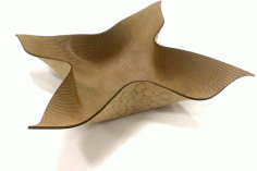 Laser Cut Bending Mdf Bowl 2.5mm Free PDF File