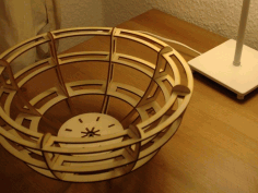 Laser Cut Bowl Free PDF File