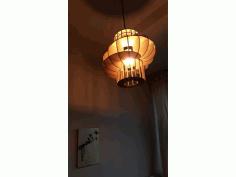 Laser Cut Donut Lamp Free PDF File