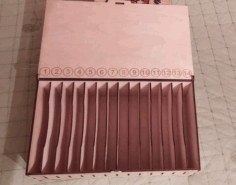 Laser Cut Cell Phone Storage Box Free CDR Vectors Art