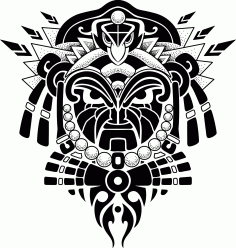 Laser Cut Engrave Maori Patterns Designs Free CDR Vectors Art