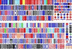 Screens Panels Patterns Free CDR Vectors Art