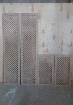 Laser Cut Separator Pattern Design Free CDR Vectors Art