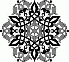 Arabic Arabesque Design Free AI File