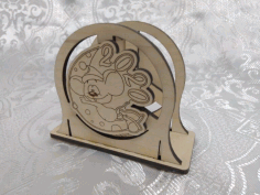 Laser Cut Standing Napkin Holder 2020 Free CDR Vectors Art