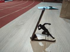 Phone Stand For Runner Sport Lover Marathon Athlete Student Gift Free CDR Vectors Art