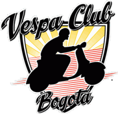 Vespa Club Bogota Logo Vector Free AI File