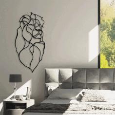 Laser Cut Lion Wall Art Home Decor Free CDR Vectors Art