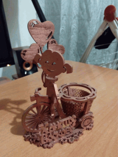 Laser Cut Easter Egg Stand 4mm Free CDR Vectors Art