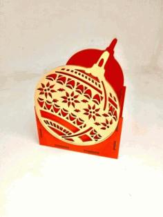 Laser Cut Ornament Shape Organizer Free CDR Vectors Art