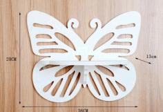 Laser Cut Butterfly Shelf Vector Free CDR Vectors Art